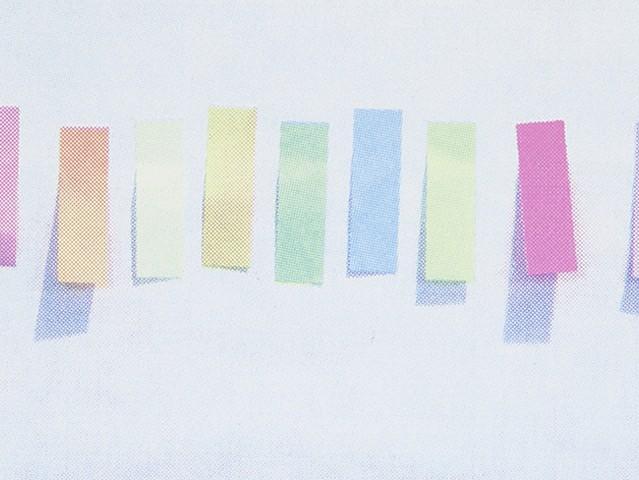 Quiets No. 1 (A Rainbow but not A Rainbow, Detail)