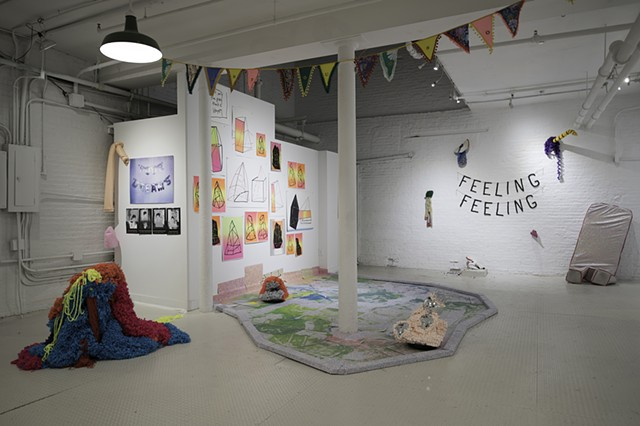 Feeling Feeling: Exhibition View 2