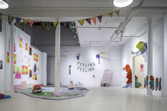 Feeling Feeling: Exhibition View