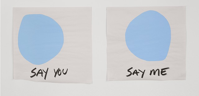 Stevie Wonder quote, Diptych, screen print, silkscreen, Jokes, relationship, queer art, queer artist
