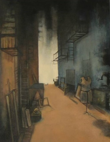 """study for a discarded studio"""