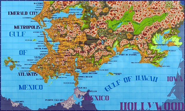 Map Of America Hollywood.Lordy Rodriguez