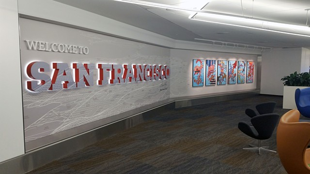 Strangerhood: San Francisco International Airport Installation