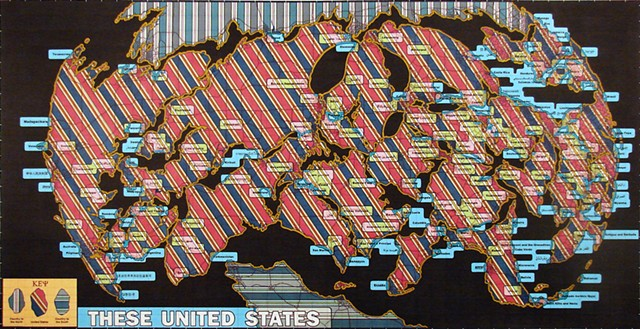 United States Map V (The World)