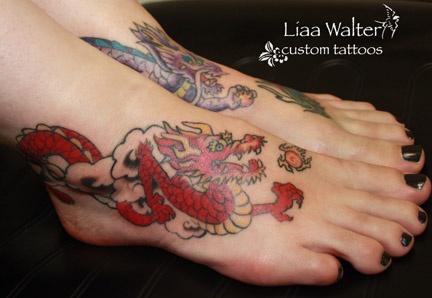 Dragon feet (right side)