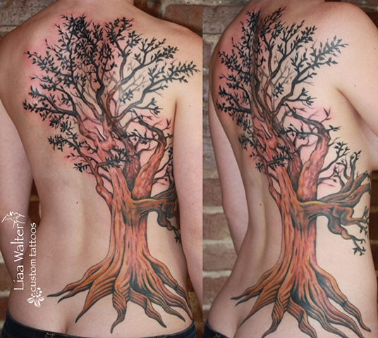 pin-up cover, Tree