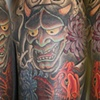 AFTER- Japanese Sleeve with dragon koi and hannya mask