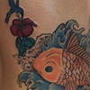 Koi cover-up and touch -up last session