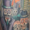 Day of the dead work zombies