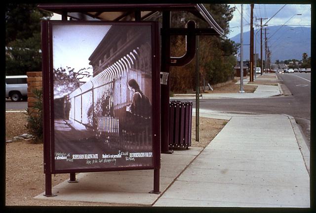 Bus Stop Mural - Jenny