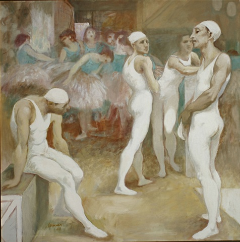 Acrobats and Dancers