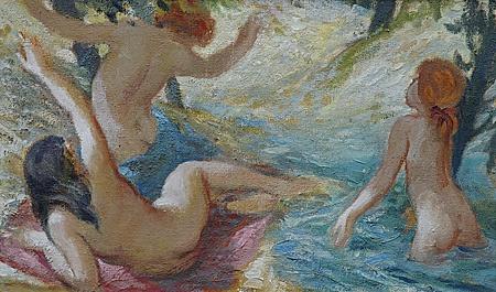 Harry Carmean painting