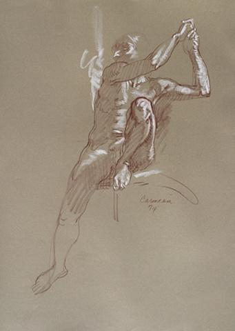 harry  carmean figurative art