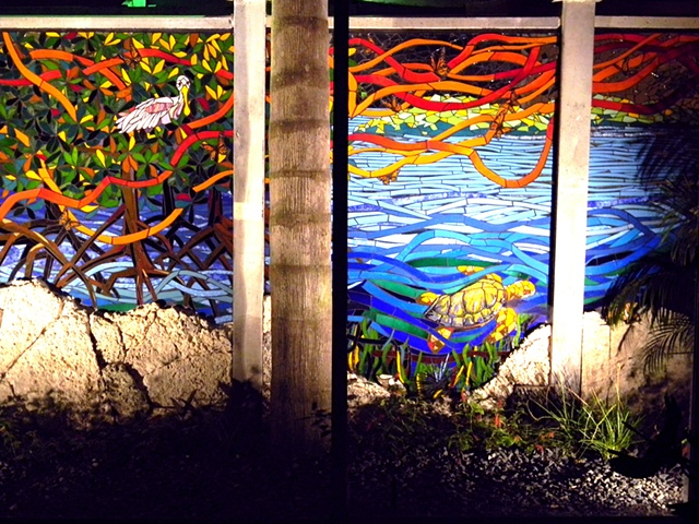 Monarch Migration Mural (Left)