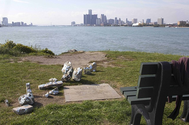 They Left it Up to a Future Place (Memorial, Belle Isle)