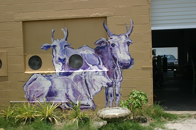 Zen Glass Cows, St. Petersburg, Florida