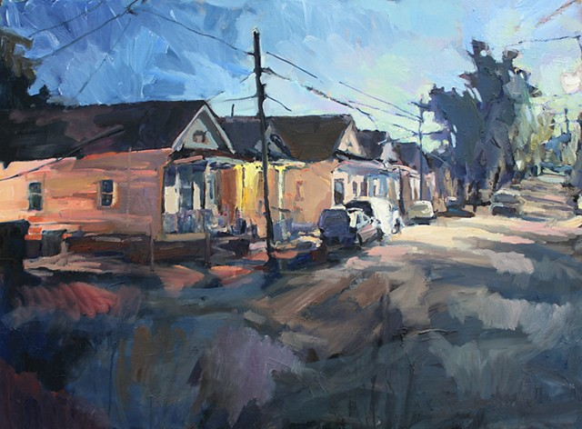 Streetview, 36x48in, oil on canvas, sold