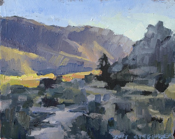 Last Light, 8x10in, oil on canvas, sold