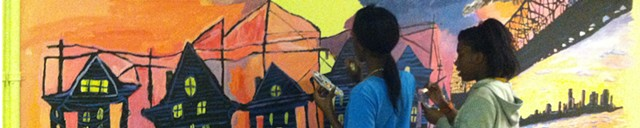Class Murals with Youth