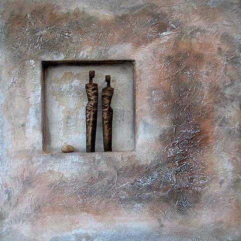 Man/Woman/Stone