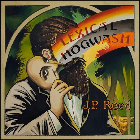 Lexical Hogwash  Commissioned Album Cover  SOLD