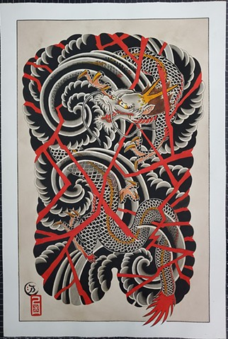 Dragon  ORIGINAL PAINTING FOR SALE