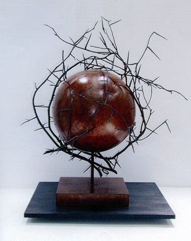 Sculpture, Bronze, Nature, Landscape