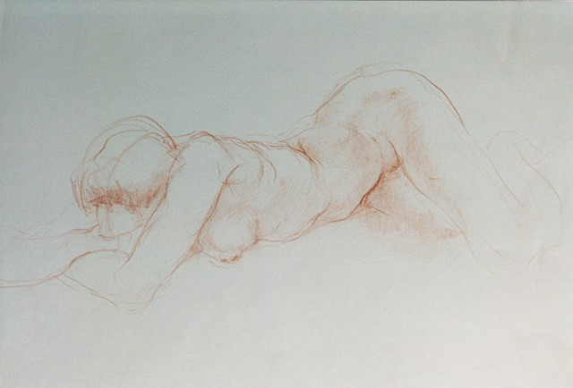 Figurative Drawings and Sculptures