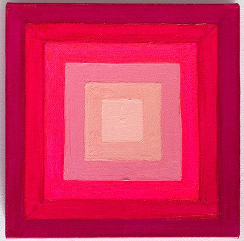 Concentric Pink Squares 2