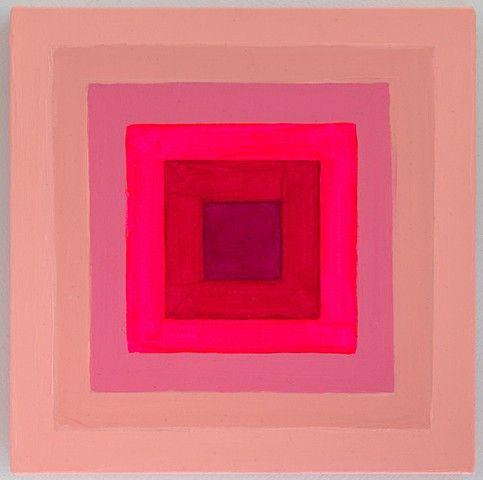 Concentric Pink Squares 1