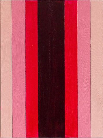 Pink Striped Painting