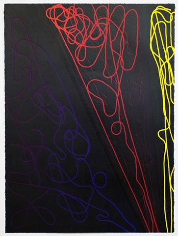 Untitled (Blue, Red, Yellow)