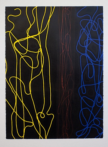 Untitled (Yellow, Orange, Blue)