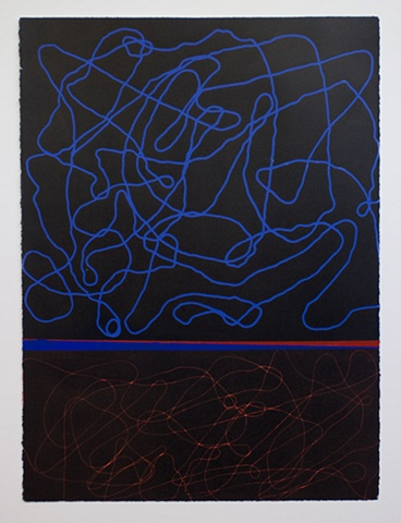 Untitled (Orange, Blue)