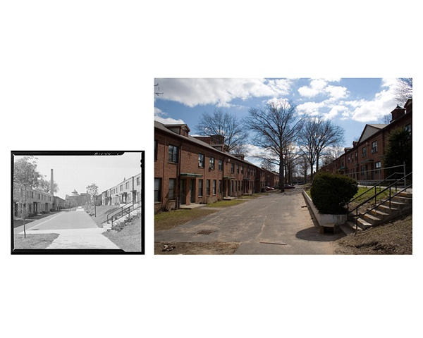 Toepfert Apartments, Lyman Street Holyoke, Massachusetts 1941 & 2007