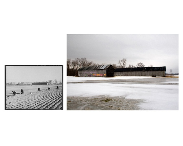 Near Hatfield, Massachusetts  1936 & 2007