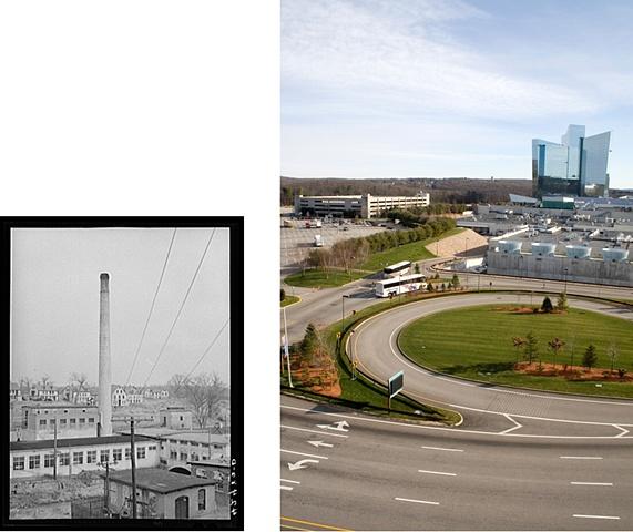Uncasville, Connecticut  1940 & 2007