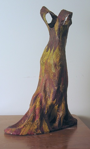 Titania's gown, back view