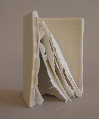 Porcelain book