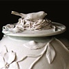 Porcelain Nesting Bird