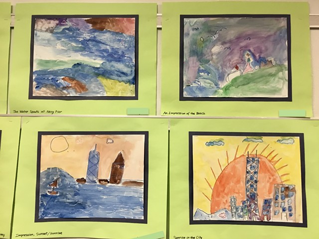 Impressionistic Painting in Style of Monet