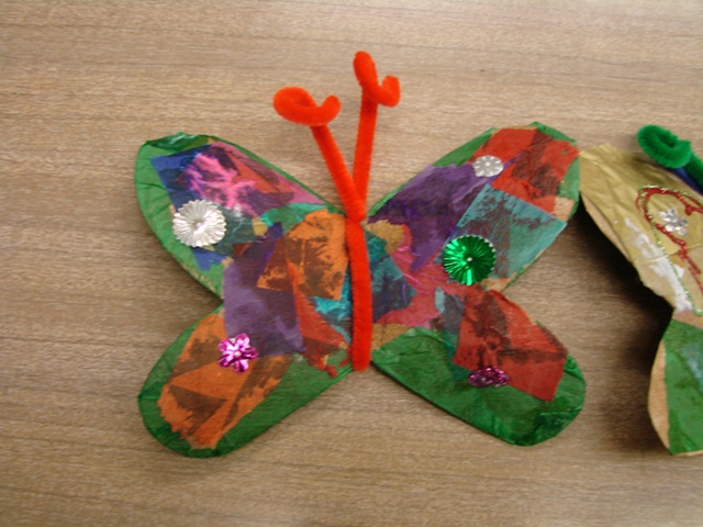 Butterfly craft from UNCLE MONARCH