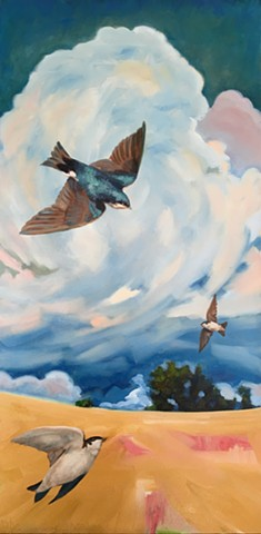 Sold -  flew away to its new home, The Swallows