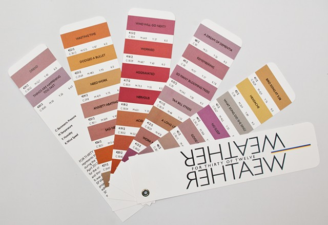 weather pantone book