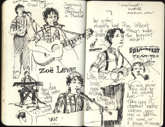 Zoe Lewis, One Woman Band