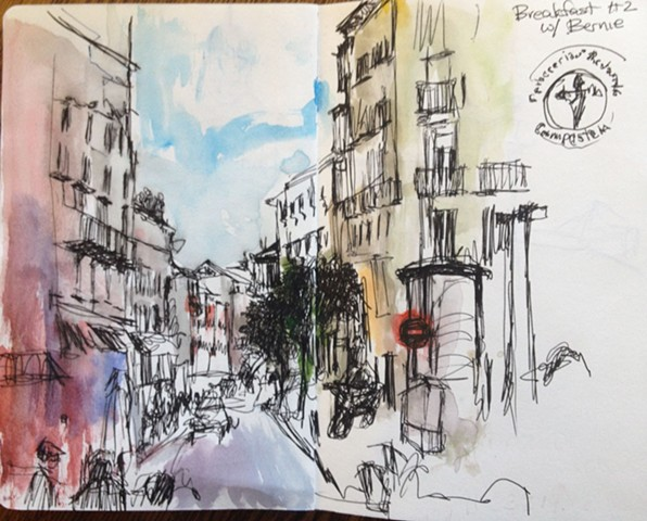 Sketchbook from Spain. 3.2014