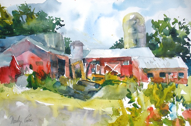 Red Barn, Greenville