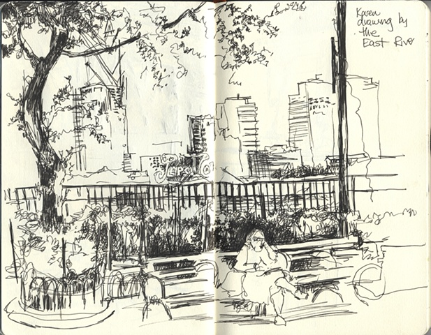 Drawing in NYC