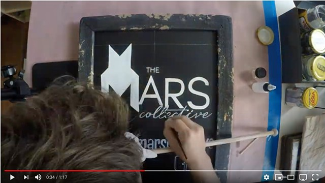 Video - Sign for The Mars Collective