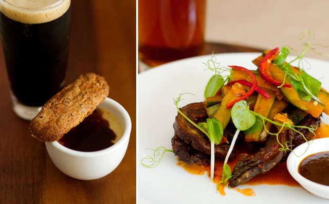 Beer + Food feature in Spice Magazine with Chef deBeersine
